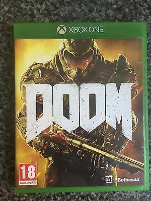 Brand New And Sealed  Condition  ( Doom ) Brilliant  Xbox One Game