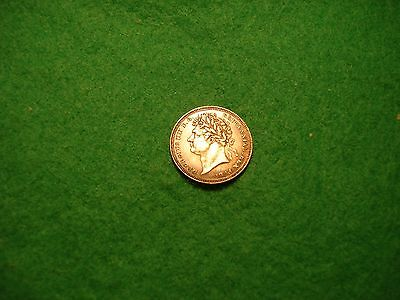 1824 SILVER THREEPENCE George 1V very high grade toned FREEPOST