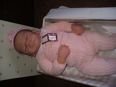 "LIFELIKE  DOLL IS CALLED ""welcomehome baby emily"" MADE BY ASHTON- DRAKE .BOXED."