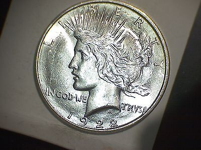 1922-D Peace Dollar * High Grade
