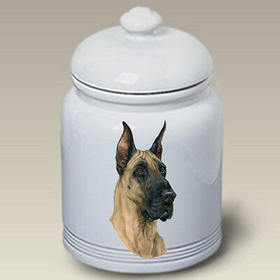 Ceramic Treat Cookie Jar - Great Dane (LP) 45020