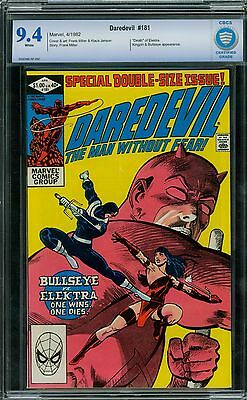 Daredevil 181 CBCS 9.4 - White Pages