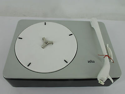 Dieter Rams Braun PC 3 SV 1959 -Turntable New in box Investment Fully functional
