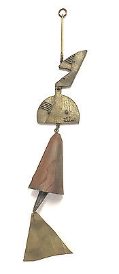 Paolo Soleri Cosanti Arcosanti Special Assembly Abstract Bronze Bell mid century