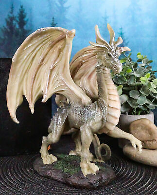 """Collectibles Fantasy Battle of Thrones Wise Aged Wraith Hydra Dragon 8"""" Tall"""