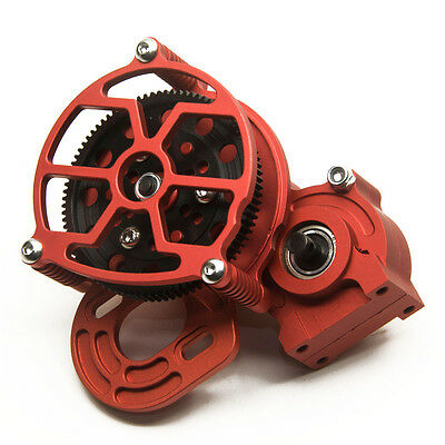 Transmission Case Center Gearbox Box for RC 1:10 Axial SCX10 AX10 Crawlers Car