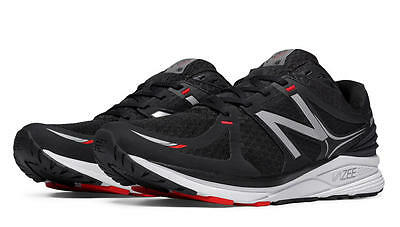 New Balance Men's Running Vazee Prism Shoes, Black with White