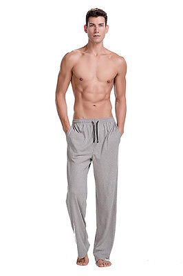 CYZ Men's 100% Cotton Jersey Knit Pajama Pants drawstring/Lounge Pants