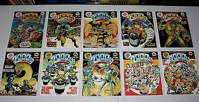 THE BEST OF 2000 A.D. Issues 1 to 10  (1985)
