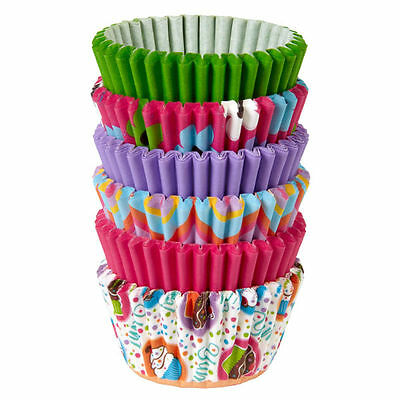 Wilton Variety Paper Party Mini Baking Cups 150 Pack Candy Cupcake Muffin Liners