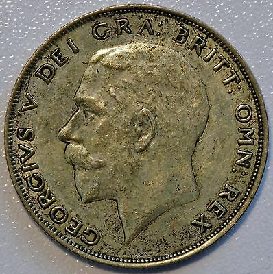 1922 Great Britain Silver Half Crown Coin XF Extra Fine (LV#637)