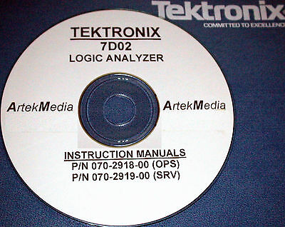 TEKTRONIX 7D02 Service & Operating Manuals (set of two)
