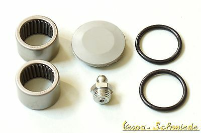 VESPA SET Swing arm/Fork/Steering column+Bearing V50 PV ET3 PK I XL O-Ring