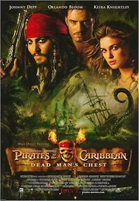 PIRATES OF THE CARIBBEAN ~ DEAD MAN'S CHEST 27x39 MOVIE POSTER