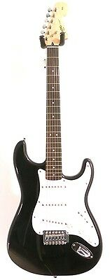 Fender Squier Affinity Series Black Stratocaster RW Electric Guitar -Blem #A2031