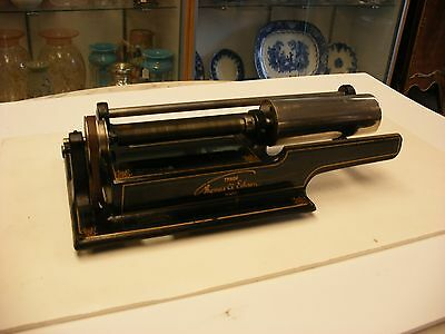 Original Edison Home 2/4 Minute Cylinder Phonograph Parts - Top Works