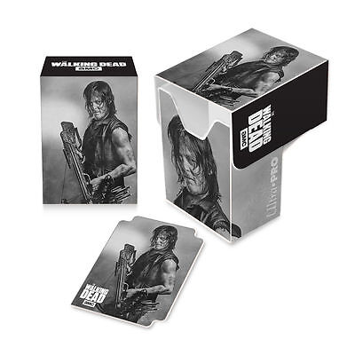 Ultra Pro Gaming Card Full View Deck Box The Walking Dead Daryl Dixon w/ Divider