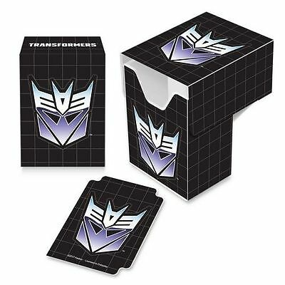 Ultra Pro Gaming Card Full View Deck Box Transformers Decepticon with Divider