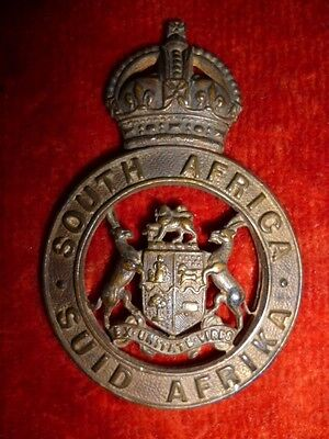 South African - Instructional Corps Cap Badge, 1923-26, Owen Ref No 876