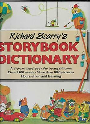 Story Book Dictionary, Scarry, Richard Hardback Book The Cheap Fast Free Post