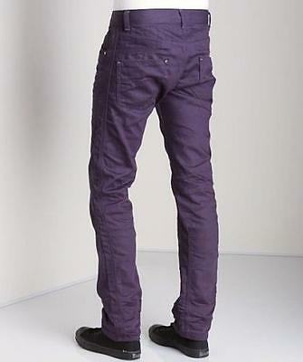 New with Tag - $195.00 Diesel Darron Purple Straight Leg Jeans Size 30