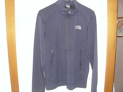 THE NORTH FACE Men's Black Small S Full Zip Front Jacket Lightweight - EUC!