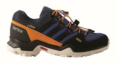 adidas Children's outdoor footwear TERREX GTX K Goretex eqt blue /core black/eqt