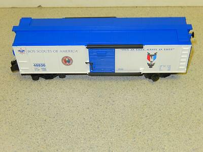 American Flyer By Lionel-48836- Boy Scouts Boxcar 0/027 - New - W51