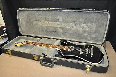 IBANEZ BLACK ELECTRIC GUITAR WX 208xx With Hard Case Made In KOREA