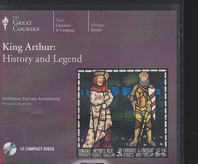 KING ARTHUR: HISTORY AND LEGEND by THE GREAT COURSES~UNABRIDGED CD AUDIOBOOK