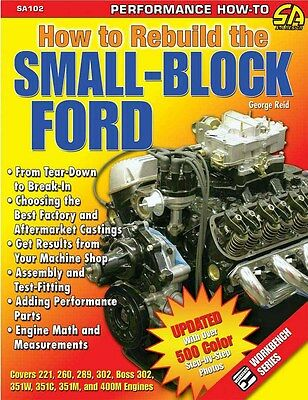 S-A Books How To Rebuild The Small-Block Ford Part Number 102