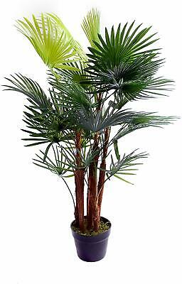 Best Artificial 90cm 3ft SPIDER Finger PALM Tree PLANT Office Conservatory new