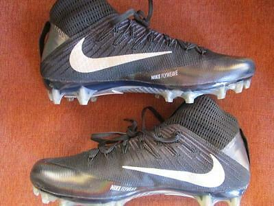 Nike Vapor Untouchable 2 TD Football Cleats Various Sizes Black Silver