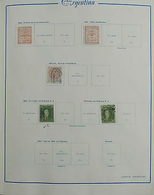 Lot 27172 Collection stamps of America ca. 1860-1960.