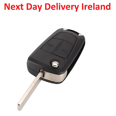 Uncut Replacement Blank Remote Car Fob Key for Vauxhall Opel Corsa Astra Vectra