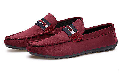 2017 Fashion Men's Driving Moccasin Loafer Casual Comfy Breathable Leather Shoes