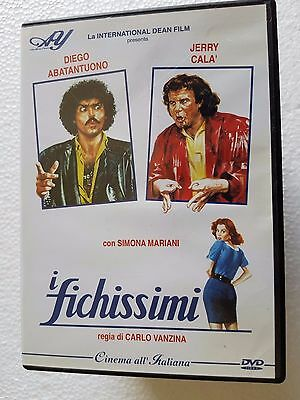 DVD USED I FICHISSIMI - DIEGO ABATANTUONO JERRY CALà -