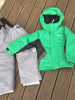 Boys Ski Suit Ski Jacket & Ski Trousers Age 3-4 Fab Condition Thick Padded Suit