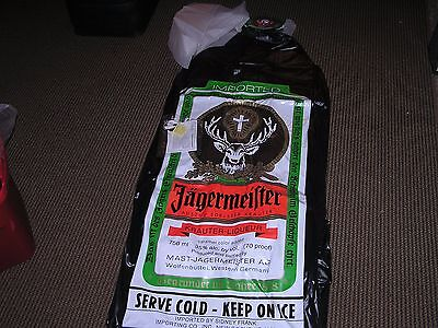 JAGERMEISTER Blow Up Bottle Display 6' NEW