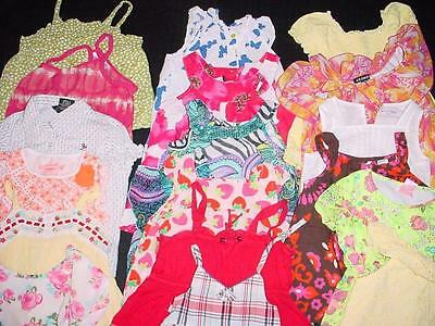 Used Baby Toddler Girl 4T Tops Shirt Spring Summer Clothes Lot