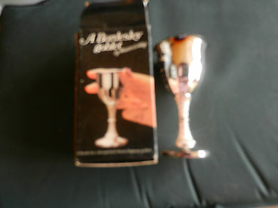 Silver Plated Goblet