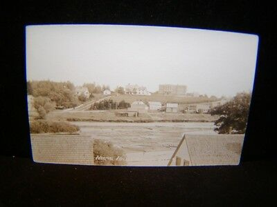 Antique POSTCARD Normal Hill, MACHIAS, ME. Real Photo