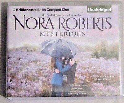 Audio Book Mysterious (Nora Roberts) 3 Romances (18 Cd's Unabridged)