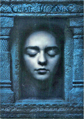 Game of Thrones Season 6 Hall of Faces HF1 Chase Card Arya Stark
