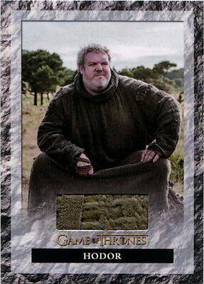 Game of Thrones Season 6 S6R2 Relic Costume Card Hodor's Shirt