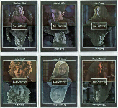 Gotham Season 2 Bad Beautiful Silver Foil Complete 6 Card Chase Set BB1 to BB5