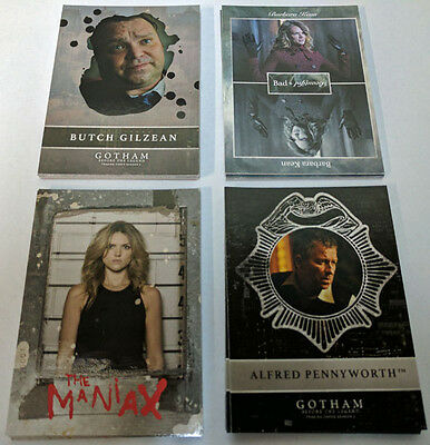 Gotham Season 2 Chase Card Set Rising Villians Bad Beautiful New Day Dark Maniax