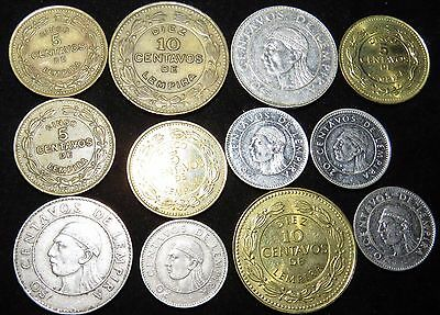 Twelve Assorted Honduras Coins Lot Bl24