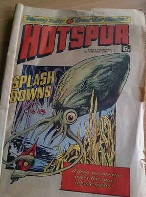 THE HOTSPUR Comic - No 910 - Date 26/3/1977 - Starting Today 5 Great New Stories