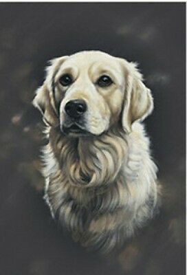 Garden Indoor/Outdoor Portrait Flag - Golden Retriever (PP) 900051
